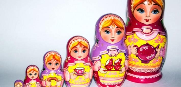 Русские игрушки и сувениры в США