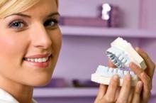 Где можно заказать съемный зубной протез?