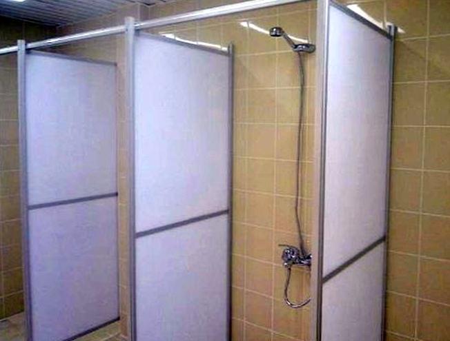 готовые сантехнические перегородки в Екатеринбурге