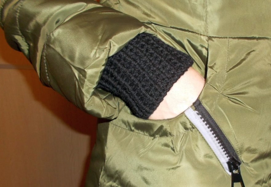 трикотажные манжеты для курток