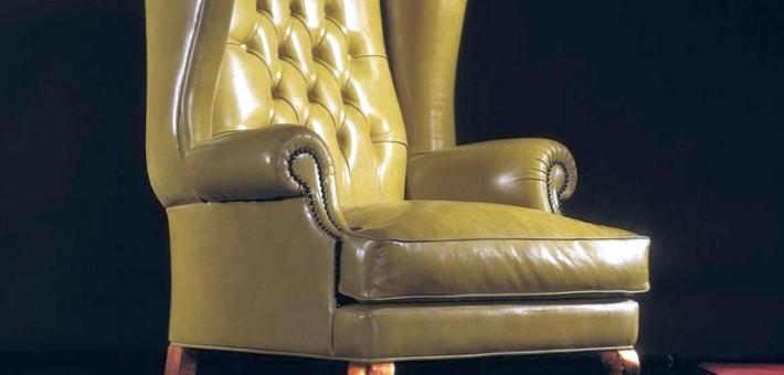 Английское каминное кресло с ушами. Что это такое?