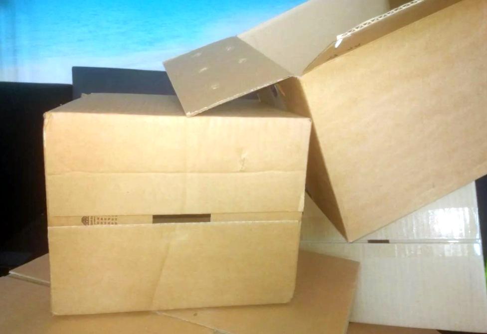 Где используются картонные коробки